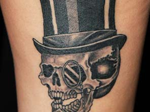 Antonio vonde tattoo studio maribor like a sir skull tattoo – fina lobanja gospod