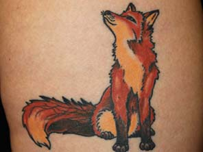 Antonio vonde tattoo studio maribor fox - lisica