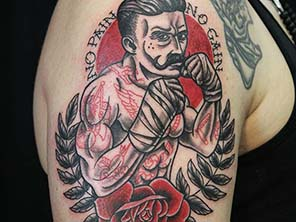 Antonio vonde tattoo studio maribor