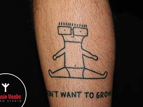 Antonio vonde tattoo studio maribor milo i don't want to grow up